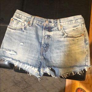 Brand new Levi's 501 shorts